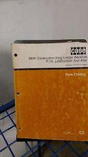 Case 580k Construction King Loader Backhoe Parts Book Manual Catalog