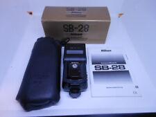 Rar: Nikon speedlight sb-28 electrónico Flash como nuevo
