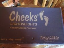 Tony Little Cheeks Lighweights Casual Athletic Footwear NIB Size 9