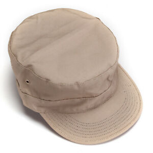 Camouflage Flat Top Patrol Fatigue Cap Hat Army Military Soldier Fighting select