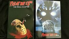 """NECA Friday the 13th Part 4&6 JASON LIVES +FINAL CHAPTER 7""""Ultimate 2 Figure Set"""