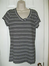 **a.n.a A NEW APPROACH** Women's shirt top size ((L)) Cotton-Modal-Spandex.