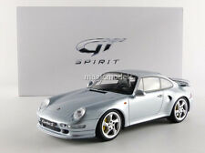 GT Spirit 1995 Porsche 911 993 Turbo S Silver LE of 504 1/18 Scale New In Stock!