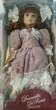 Donatella De Roma Collection Bisque Doll. Damaged package/new