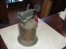 Vintage Turner Brass Works Blow Torch Sycamore Illinois Pump Action