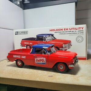 Classic Carlectables 1:18 Holden EH Utility Heritage Collection No 3 Ampol