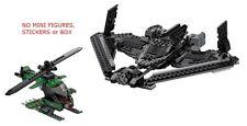 LEGO 76046 - Batman - Sky High Battle - NO MINI FIGS, STICKERS / BOX