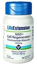 2 bottles NEW 250MG Life Extension NAD+ Cell Regenerator Nicotinamide Riboside