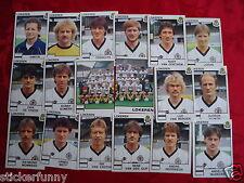 PANINI FOOTBALL 1985 LOKEREN SK 18 stickers Belgique België Belgium
