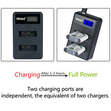 Dual USB Battery Charger for Sony NP-BX1 RX1R RX100 Ⅱ DSC-HX50 DSC-HX300