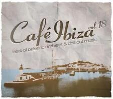 CAFE IBIZA 18 = Ferrer/Cantoma/Ibizarre/York/Padilla...=2CD= AMBIENT CHILLOUT