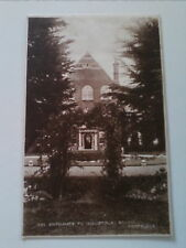 Postcard Entrance to Industrial School Portslade Sussex UP  (A4)