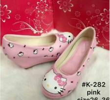 Hello Kitty Wedge Shoes For Kids (Pink)