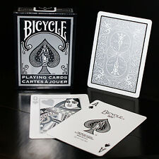 Bicycle Fashion Deck - Silver - Playing Cards - Magic Tricks - New