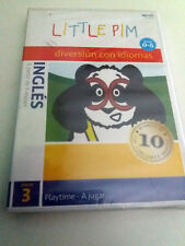 "DVD ""LITTLE PIM DIVERSION CON IDIOMAS INGLES PLAYTIME"" PRECINTADO SEALED 0-5 AÑO"