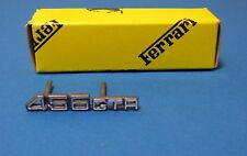 FERRARI 456GTA  DASHBOARD SCRIPT BADGE EMBLEM NEW ORIGINAL