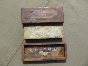 Vintage Norton Abrasives No. 1 Washita Oil Stone Original Quality Pike