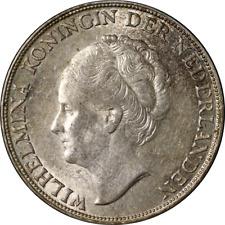 Netherlands 1 Gulden 1944 KM #161.2 AU