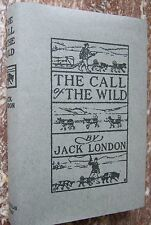 The Call of the Wild,1904, Jack London First Edition, 9th Print ~w/ Facs DJ