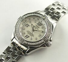 BREITLING  EXCLUSIVMODELL LADY B-CLASS BRILLANTLÜNETTE REF.: A71365 PAPIERE/BOX