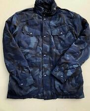 NEW POLO RALPH LAUREN CAMO JACKET POLO PATCH Zippered hood DOWN FILLED
