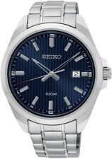 SEIKO SUR275P1 Date Blue Dial WR 100m Men's Analogue 2 Year Guar  RRP £159.00