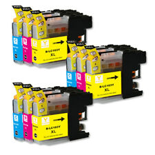 Color Ink Tanks use for Brother LC103CL LC103XL MFC-J285DW MFC-J450DW MFC-J470DW