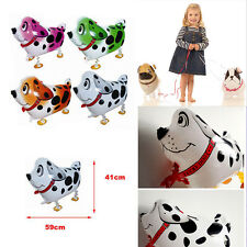 Novelty bulldog Walking Pet Balloons Birthday Party Supply Inflatable Toys Gifts