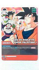 Carte Dragon ball Z Jeu de roulette super palpitant ! DB-739
