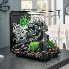 Biorb flow 30L Black Aquarium+Biorb Stackable Rock Sculpture+ 3 Filter+Start Up+