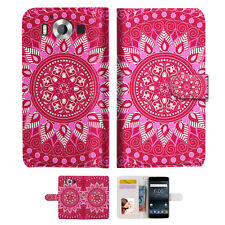 Hot Pink AZTEC TRIBAL TPU Phone Wallet Case Cover For Nokia 3 -- A004