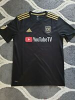 Men's LAFC Black 2018 Primary Adidas Replica Jersey Medium