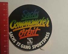 ADESIVI/Sticker: Sachs Commander Orbit (10111643)