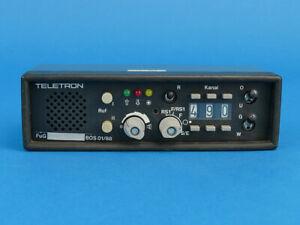 Teletron 4 m Bediengerät, Funk/BOS/Funkzubehör/4m/Bedienkopf/Feuerwehr/DRK