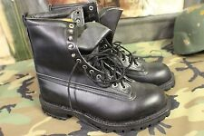 PARATROOPER BOOTS BILTRITE OLD SCHOOL ISSUE BLACK LEATHER NEW SZ 10 LOOK @ SOLE