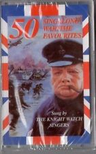 50 SINGALONG WARTIME FAVOURITES THE KNIGHT WATCH SINGERS ORIGINAL CASSETTE NEW