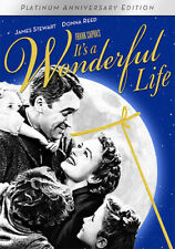 Its a Wonderful Life (DVD, 2016, B&W + Color 2-Disc Set) James Stewart NEW
