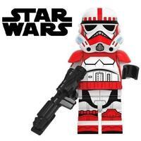 Shock Trooper Clone Star Wars Custom Minifigure Minifig Mini Figure 211
