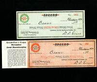 US Central States Manufacturing Co. St Lois MO 1930 Christmas Check