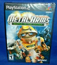 NEW, Factory Sealed, Metal Arms Glitch In The System, PlayStation 2,NTSC,Free SH