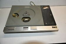 Thorens TD-125 Turntable PART - WORKING CHASSIS WITH ELECTRONICS AND MOTOR