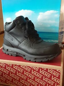 Nike Mens Air Max Acg Goadome Boots Size 8.5 Waterproof Black Leather 855031-009