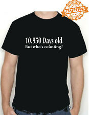30th BIRTHDAY T-shirt / FUNNY / Work Party / Christmas / Holiday / Size Small