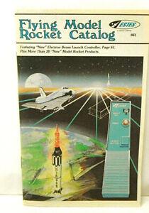 1986 Estes Industries Flying Model Rocket Catalog No 861 Damon Co Igniters Beam