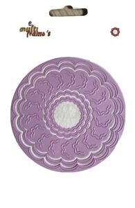 Stanzschablone Incire Round Rahmen  Rund Lace MFD 053 Die Nellie's Cuttlebug