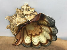 1960 1970 Kitch Conch Shell Dish