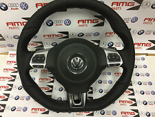 VW Golf 6 GTD R-Line Lederlenkrad GTI Steering Wheel Lenkradairbag Schaltwippen