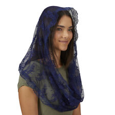 Infinity Chapel Veil - Blue