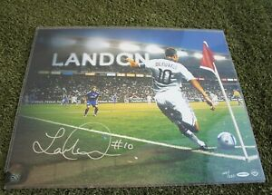 Upper Deck Landon Donovan SIGNED 16x20 Poster Photo Autograph LA Galaxy COA UDA