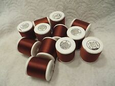 12 Spools Gudebrod Bros Nylon Rod Winding Thread 100 Yds Each Size EE